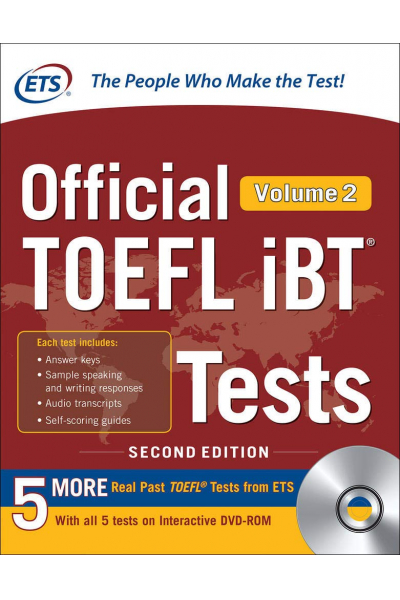 Official TOEFL iBT Tests Volume 2, Second Edition Official TOEFL iBT Tests Volume 2, Second Edition