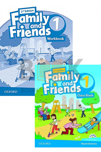 Family and Friends 1 Class Book + Workbook + 2 DVDs Family and Friends 1 Class Book + Workbook + 2 DVDs