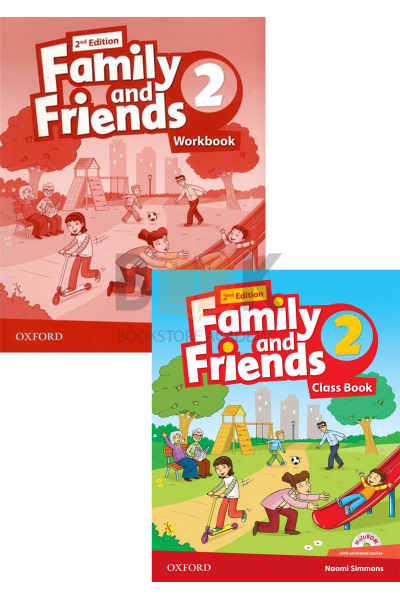 Family and Friends 2 Class Book + Workbook + 2 DVDs Family and Friends 2 Class Book + Workbook + 2 DVDs