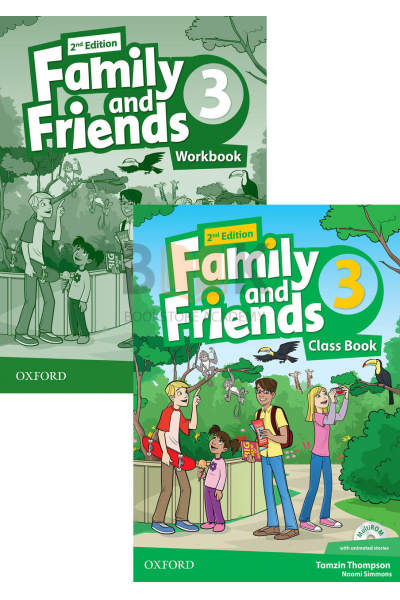 Family and Friends 3 Class Book + Workbook + 2 DVDs Family and Friends 3 Class Book + Workbook + 2 DVDs