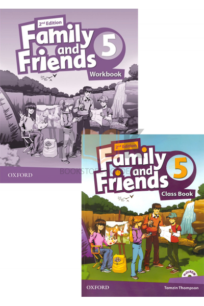 Family and Friends 5 Class Book + Workbook + 2 DVDs Family and Friends 5 Class Book + Workbook + 2 DVDs