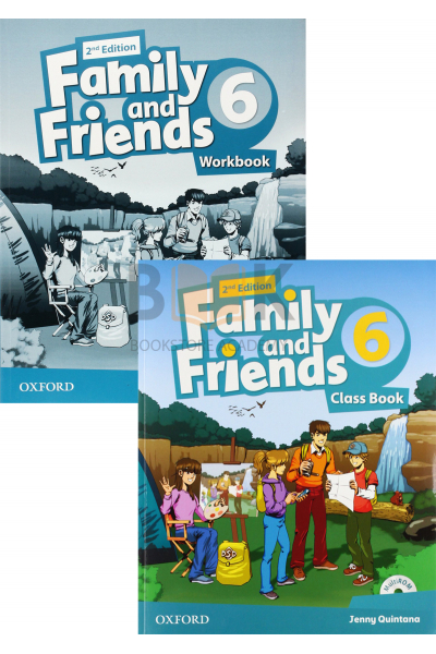 Family and Friends 6 Class Book + Workbook + 2 DVDs Family and Friends 6 Class Book + Workbook + 2 DVDs