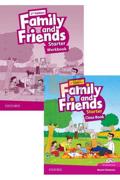 Family and Friends Starter Class Book + Workbook + 2 DVDs Family and Friends Starter Class Book + Workbook + 2 DVDs
