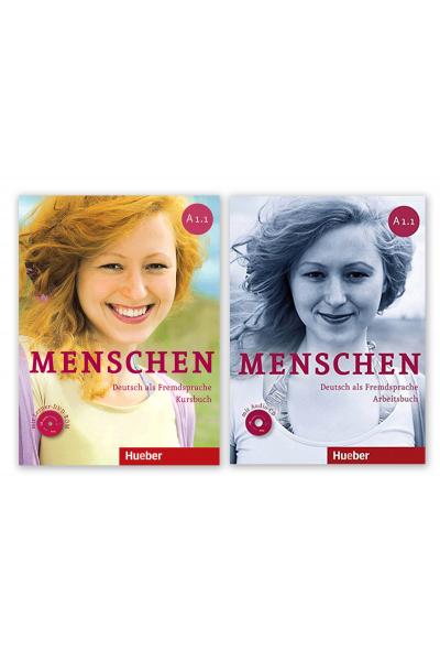 Menschen A1.1 Kursbuch+Arbeitsbusc+DVD + AR Teknolojisi ile Kolay Öğrenme Menschen A1.1 Kursbuch+Arbeitsbusc+DVD + AR Teknolojisi ile Kolay Öğrenme