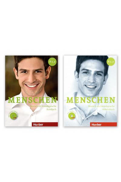 Menschen A1.2 Kursbuch+Arbeitsbusc+DVD + AR Teknolojisi ile Kolay Öğrenme Menschen A1.2 Kursbuch+Arbeitsbusc+DVD + AR Teknolojisi ile Kolay Öğrenme