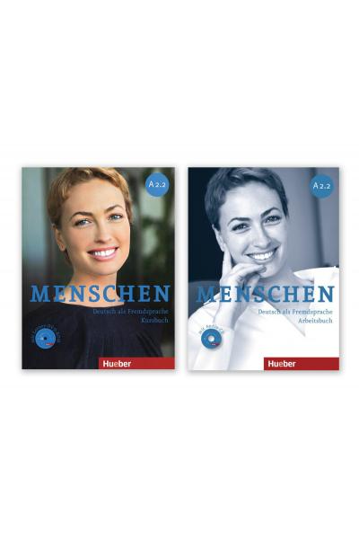 Menschen A2.2 Kursbuch+Arbeitsbusc+DVD + AR Teknolojisi ile Kolay Öğrenme Menschen A2.2 Kursbuch+Arbeitsbusc+DVD + AR Teknolojisi ile Kolay Öğrenme