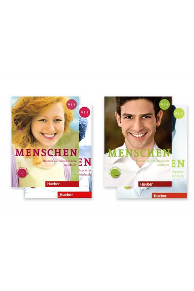 Menschen A1.1 + A1.2 Kursbuch, Arbeitsbuch + DVD-ROM + AR Teknolojisi ile Kolay Öğrenme Menschen A1.1 + A1.2 Kursbuch, Arbeitsbuch + DVD-ROM + AR Teknolojisi ile Kolay Öğrenme