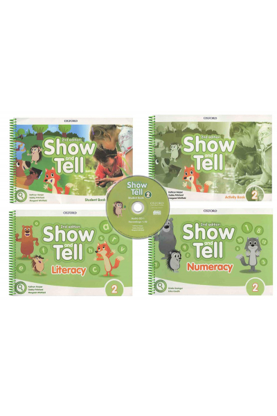 Show and Tell 2 Student Book +Activity +Literacy +Numeracy +CD (2nd Edition) Show and Tell 2 Student Book +Activity +Literacy +Numeracy +CD (2nd Edition)
