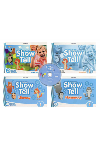 Show and Tell 1 Student Book +Activity +Literacy +Numeracy +CD (2nd Edition) Show and Tell 1 Student Book +Activity +Literacy +Numeracy +CD (2nd Edition)