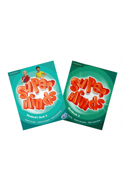 Super Minds 3 Student's Book + Workbook + DVD-ROM Super Minds 3 Student's Book + Workbook + DVD-ROM