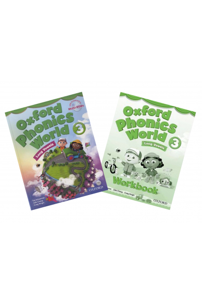 Oxford Phonics World: Level 3: Student Book and Workbook +CD-ROM Oxford Phonics World: Level 3: Student Book and Workbook +CD-ROM