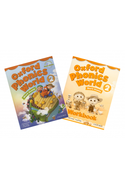 Oxford Phonics World: Level 2: Student Book and Workbook +CD-ROM Oxford Phonics World: Level 2: Student Book and Workbook +CD-ROM