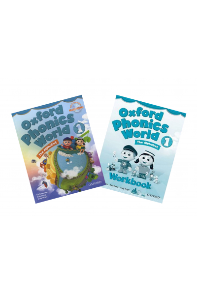 Oxford Phonics World: Level 1: Student Book and Workbook +CD-ROM Oxford Phonics World: Level 1: Student Book and Workbook +CD-ROM