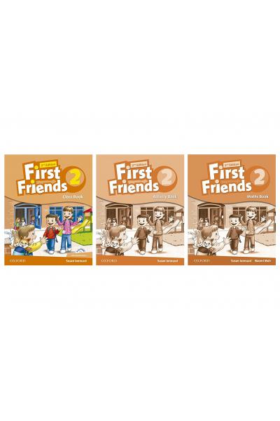 First Friends 2 Class Book + Activity Book + Maths Book + CD-ROM First Friends 2 Class Book + Activity Book + Maths Book + CD-ROM