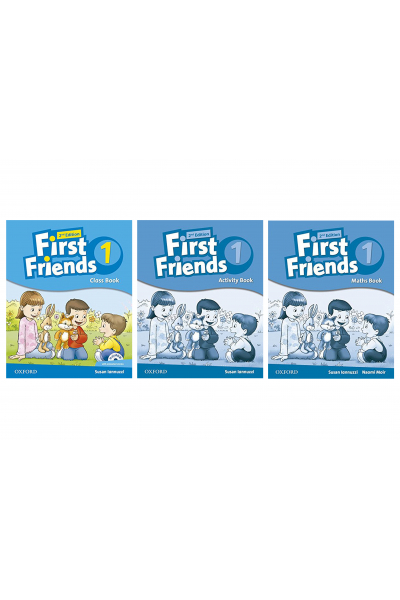 First Friends 1 Class Book + Activity Book + Maths Book + CD-ROM First Friends 1 Class Book + Activity Book + Maths Book + CD-ROM