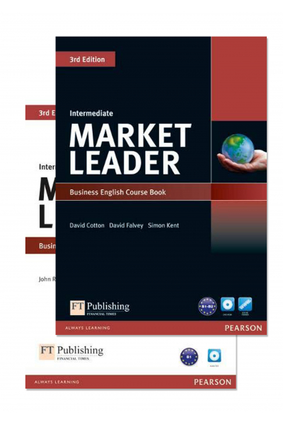 Market Leader 3rd Edition Intermediate Course Book and Practice File + 2 DVD-ROM Market Leader 3rd Edition Intermediate Course Book and Practice File + 2 DVD-ROM