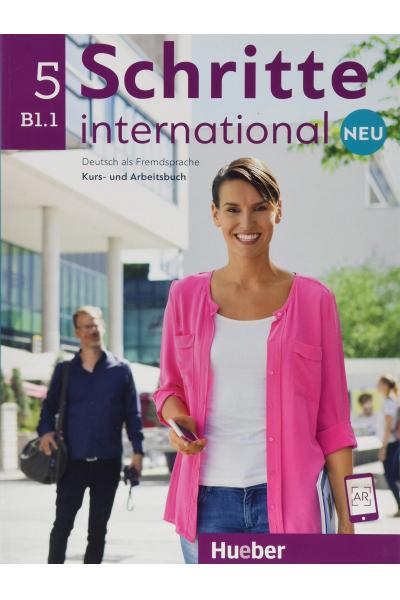 Schritte International 5 Neu B1.1 Kurs Und Arbeitsbuch + CD-ROM + AR Teknolojisi ile Kolay Öğrenme Schritte International 5 Neu B1.1 Kurs Und Arbeitsbuch + CD-ROM + AR Teknolojisi ile Kolay Öğrenme