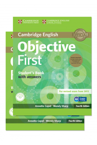 Objective First Student's Book and Workbook + 2 CD-ROM Objective First Student's Book and Workbook + 2 CD-ROM