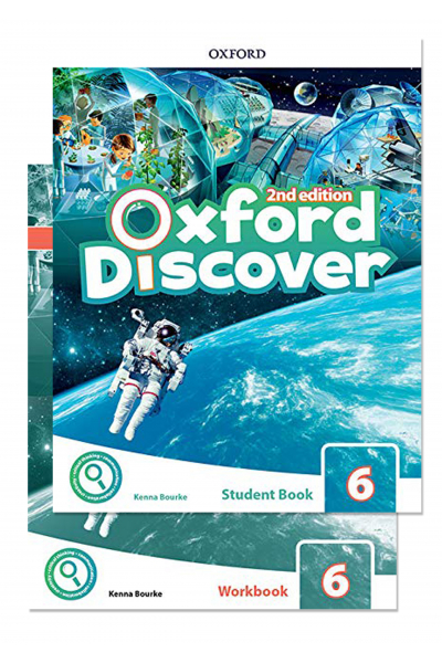 Oxford Discover 6 Student Book and Workbook 2nd Edition + CD-ROM Oxford Discover 6 Student Book and Workbook 2nd Edition + CD-ROM