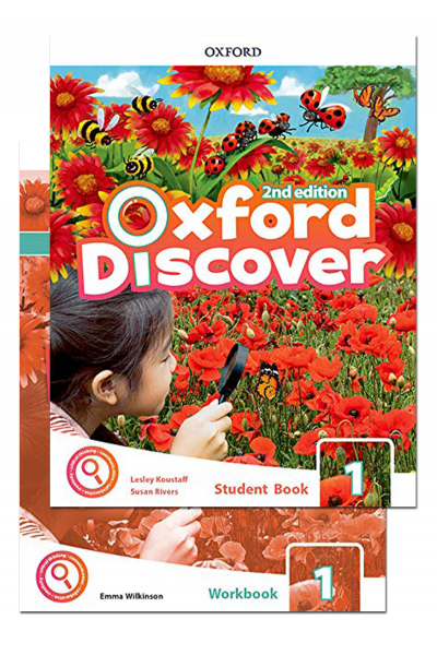 Oxford Discover 1 Student Book and Workbook 2nd Edition + CD-ROM Oxford Discover 1 Student Book and Workbook 2nd Edition + CD-ROM