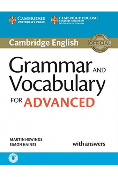 Grammar and Vocabulary for Advanced Book with Answers + CD-ROM