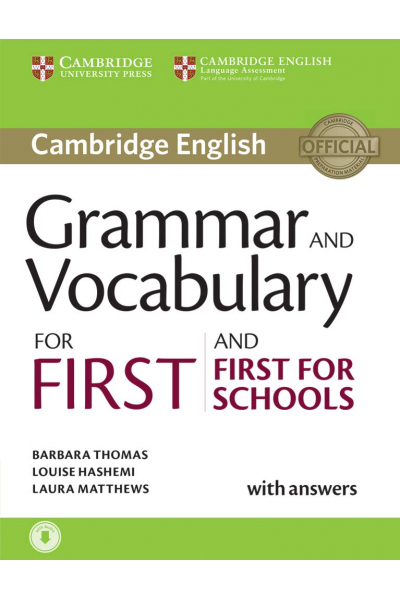 Grammar and Vocabulary for First and First for Schools + CD-ROM Grammar and Vocabulary for First and First for Schools + CD-ROM