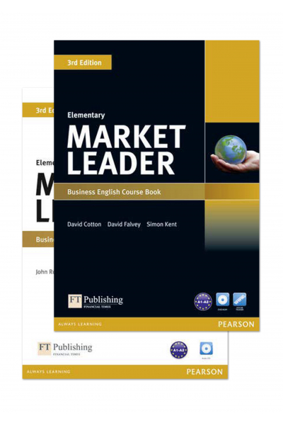 Market Leader 3rd Edition Elementary Course Book and Practice File + 2 DVD-ROM Market Leader 3rd Edition Elementary Course Book and Practice File + 2 DVD-ROM