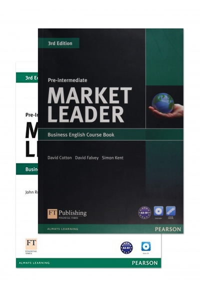 Market Leader 3rd Edition Pre-Intermediate Course Book and Practice File + 2 DVD-ROM Market Leader 3rd Edition Pre-Intermediate Course Book and Practice File + 2 DVD-ROM