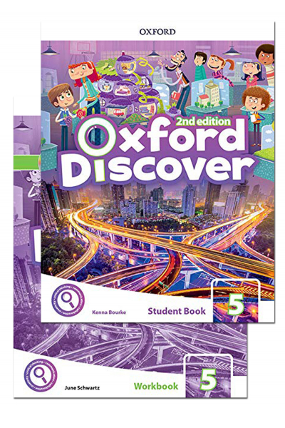 Oxford Discover 5 Student Book and Workbook 2nd Edition + CD-ROM Oxford Discover 5 Student Book and Workbook 2nd Edition + CD-ROM