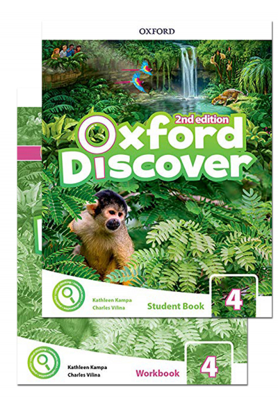 Oxford Discover 4 Student Book and Workbook 2nd Edition + CD-ROM Oxford Discover 4 Student Book and Workbook 2nd Edition + CD-ROM