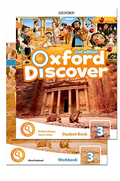 Oxford Discover 3 Student Book and Workbook 2nd Edition + CD-ROM Oxford Discover 3 Student Book and Workbook 2nd Edition + CD-ROM