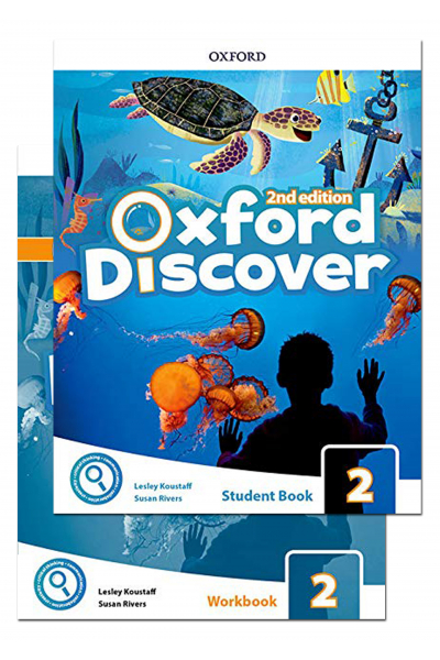 Oxford Discover 2 Student Book and Workbook 2nd Edition + CD-ROM Oxford Discover 2 Student Book and Workbook 2nd Edition + CD-ROM