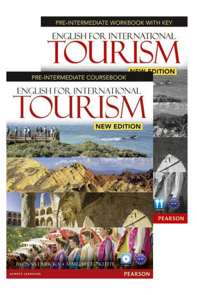 English for International Tourism Pre-Intermediate New Edition Coursebook and Workbook + DVD-ROM English for International Tourism Pre-Intermediate New Edition Coursebook and Workbook + DVD-ROM
