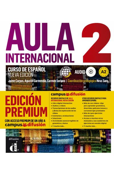 Aula Internacional Nueva edición 2 +CD-ROM  (Orjinal Renkli Basım)