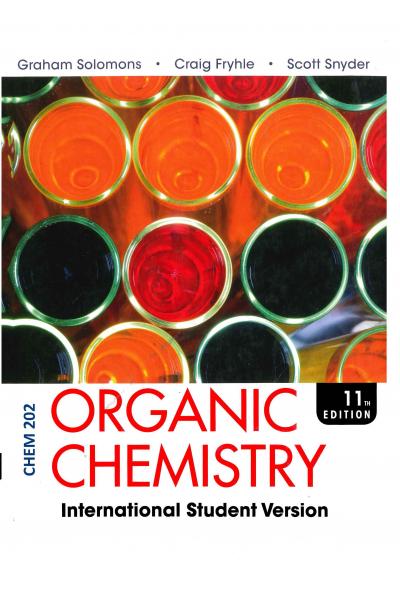 Orgnaic Chemistry (Chem 202 Chapters) Solomons Orgnaic Chemistry (Chem 202 Chapters) Solomons