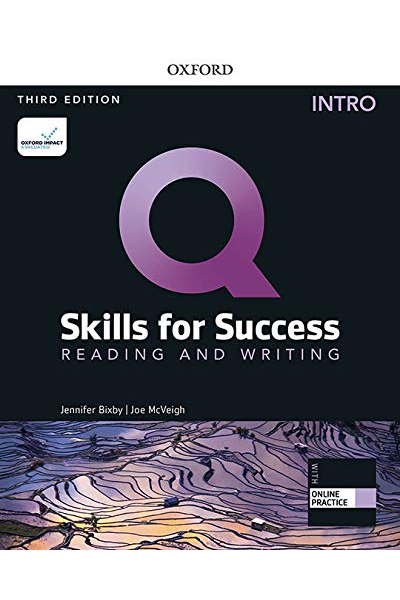 Q Skills for Success (3rd Edition). Reading & Writing Intro. Student's Book + DVD-ROM Q Skills for Success (3rd Edition). Reading & Writing Intro. Student's Book + DVD-ROM