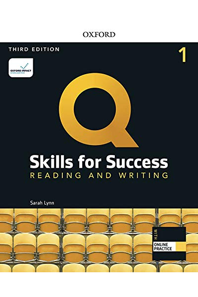 Q Skills for Success (3rd Edition). Reading & Writing 1. Student's Book + DVD-ROM