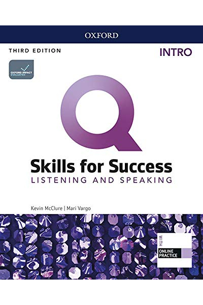 Q Skills for Success (3rd Edition). Listening & Speaking Intro. Student's Book + DVD-ROM Q Skills for Success (3rd Edition). Listening & Speaking Intro. Student's Book + DVD-ROM