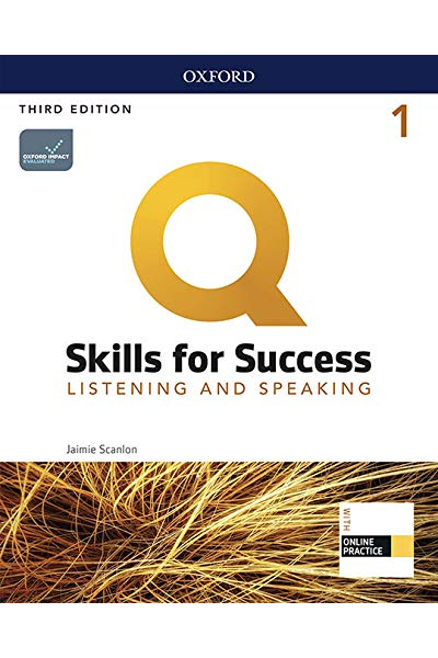 Q Skills for Success (3rd Edition). Listening & Speaking 1. Student's Book + DVD-ROM Q Skills for Success (3rd Edition). Listening & Speaking 1. Student's Book + DVD-ROM
