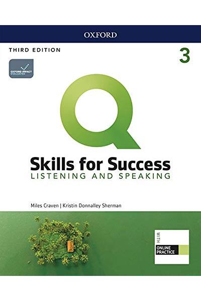 Q Skills for Success (3rd Edition). Listening & Speaking 3. Student's Book + DVD-ROM Q Skills for Success (3rd Edition). Listening & Speaking 3. Student's Book + DVD-ROM