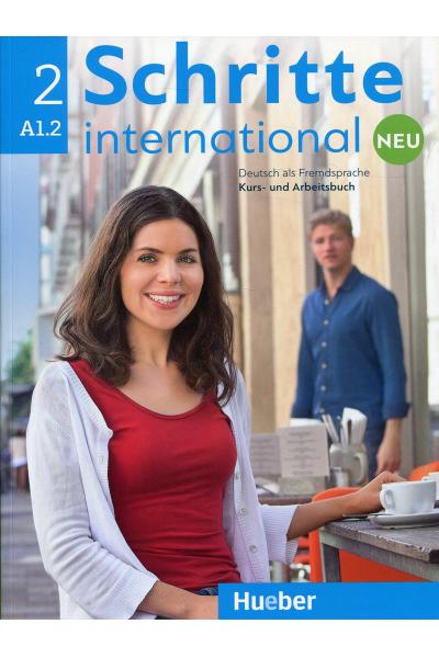 Schritte International Neu 2 A1.2 Kurs Und Arbeitsbuch + CD-ROM + AR Teknolojisi ile Kolay Öğrenme Schritte International Neu 2 A1.2 Kurs Und Arbeitsbuch + CD-ROM + AR Teknolojisi ile Kolay Öğrenme