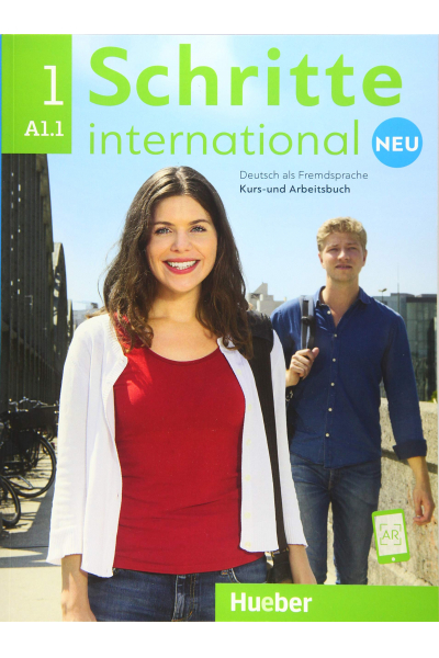Schritte International 1 Neu A1.1 Kurs Und Arbeitsbuch + CD-ROM + AR Teknolojisi ile Kolay Öğrenme Schritte International 1 Neu A1.1 Kurs Und Arbeitsbuch + CD-ROM + AR Teknolojisi ile Kolay Öğrenme