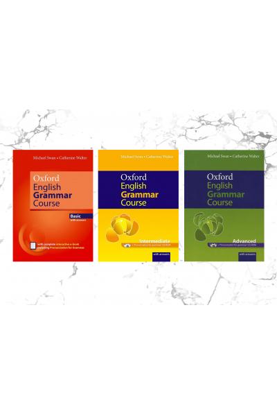 Oxford English Grammar Course Basic + Intermediate + Advanced +CD-ROM (3 LÜ SET) Oxford English Grammar Course Basic + Intermediate + Advanced +CD-ROM (3 LÜ SET)