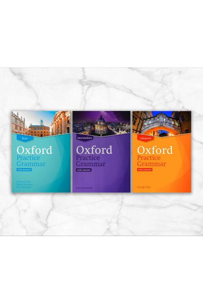 Oxford Practice Grammar Set : Basic, Intermeadiate and Advanced + CD-ROM Oxford Practice Grammar Set : Basic, Intermeadiate and Advanced + CD-ROM