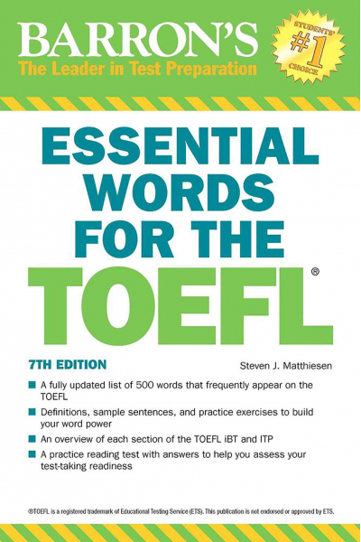 Essential Words for the TOEFL (Barron's Test Prep) Essential Words for the TOEFL (Barron's Test Prep)