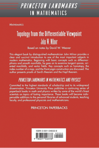 Topology from the Differentiable Viewpoint (John Willard Milnor