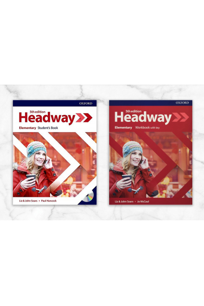 Headway Elementary Student's Book + Workbook with key + CD Headway Elementary Student's Book + Workbook with key + CD