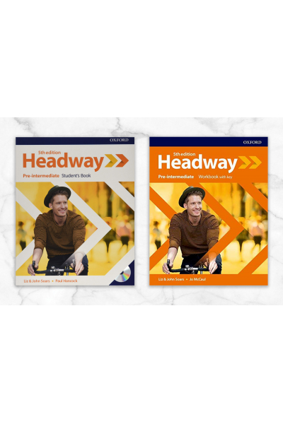 Headway Pre-Intermeadiate Student's Book + Workbook with key + CD Headway Pre-Intermeadiate Student's Book + Workbook with key + CD