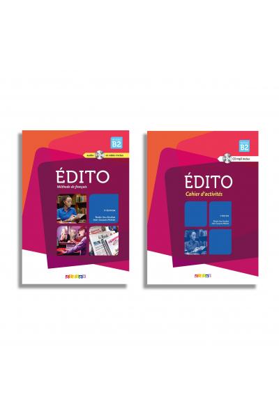 Edito niveau B2 livre + Cahier + DVD Edito niveau B2 livre + Cahier + DVD