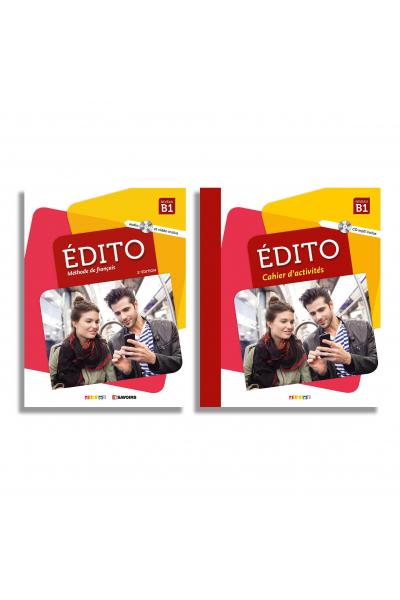 Edito niv B1 Livre + Cahier + DVD